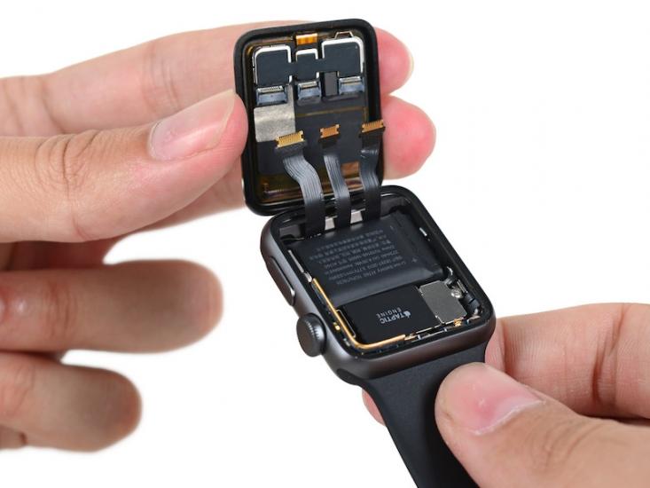 iFixit Apple Watch 2 teardown: nieuwe connectors