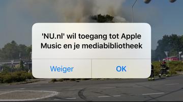 NU-app wil toegang tot Apple Music