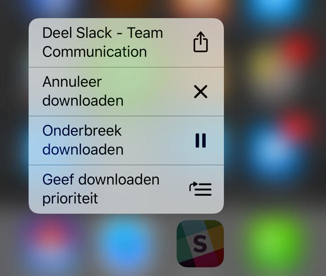 iOS 10 downloaden prioriteit geven