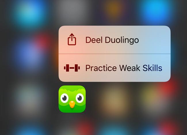iOS 10 app delen
