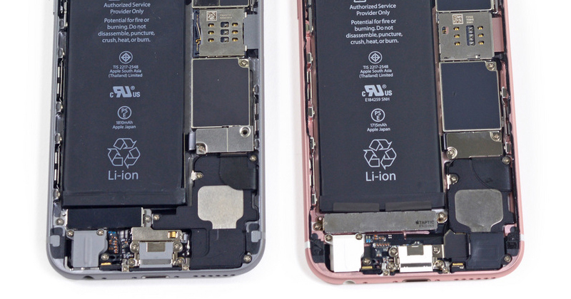 iPhone 6s taptic engine
