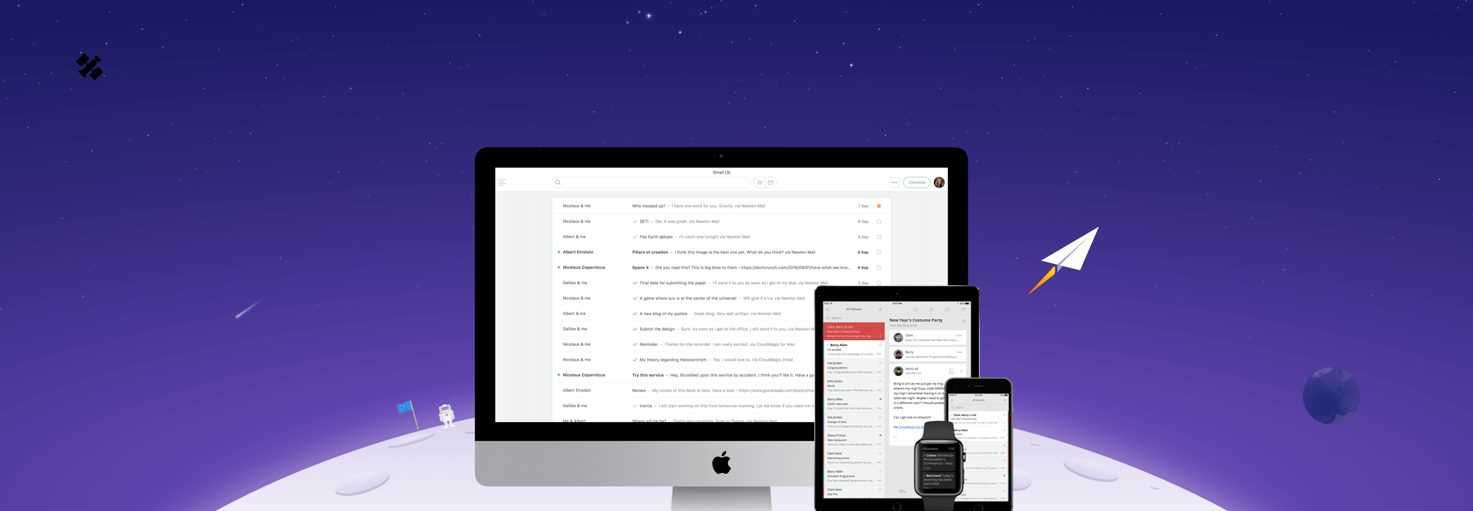 Newton voor iPhone, iPad, Mac en Apple Watch