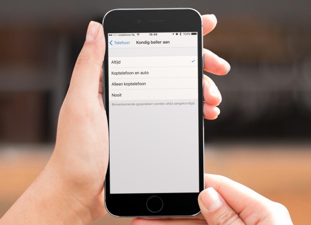 Siri kondigt de naam van de beller aan in iOS 10.