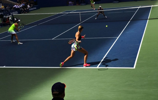US Open gefotografeerd met iPhone 7