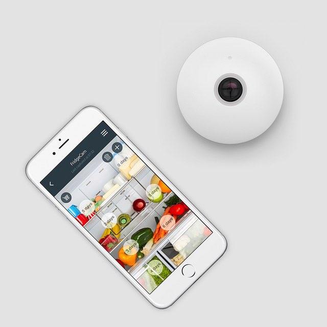 Fridgecam, koelkast-camera