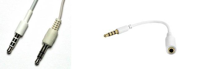 iPhone headphone jack adapter