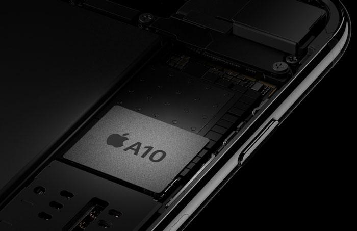 iPhone 7 batterij-chip