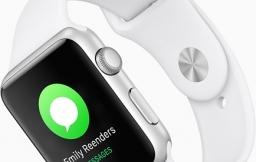Apple Watch Series 1 in het wit.