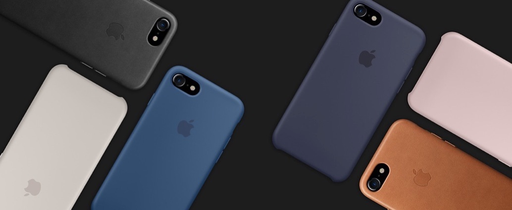 De iPhone 7 in hoesjes met achterkant.