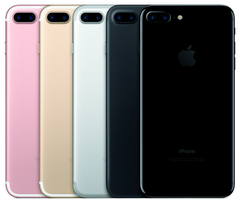 iPhone 7 Plus line-up