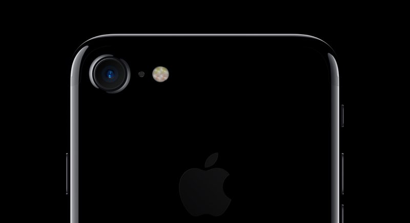Camera iPhone 7 met flitser
