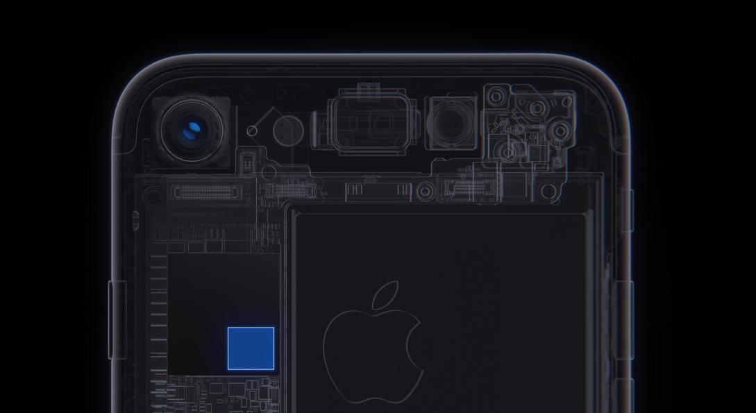 iPhone 7 camera ISP