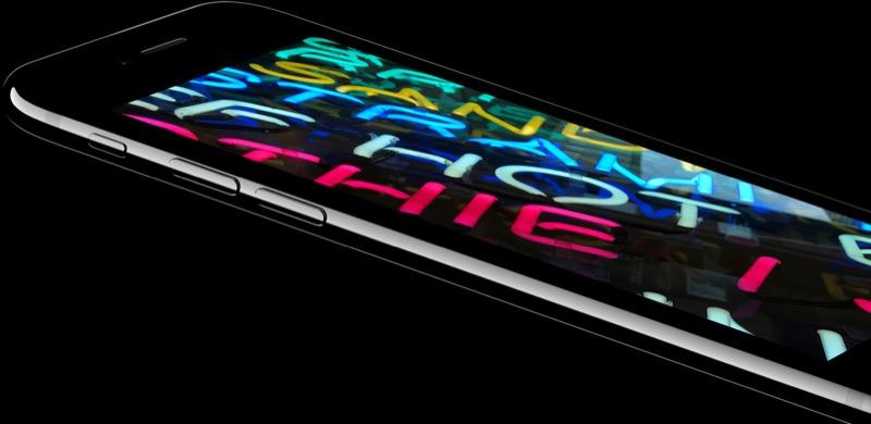 iPhone 7 retina-scherm