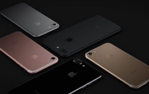iPhone 7 kleuren