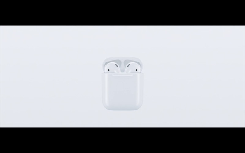iPhone 7 geluid AirPods in de case