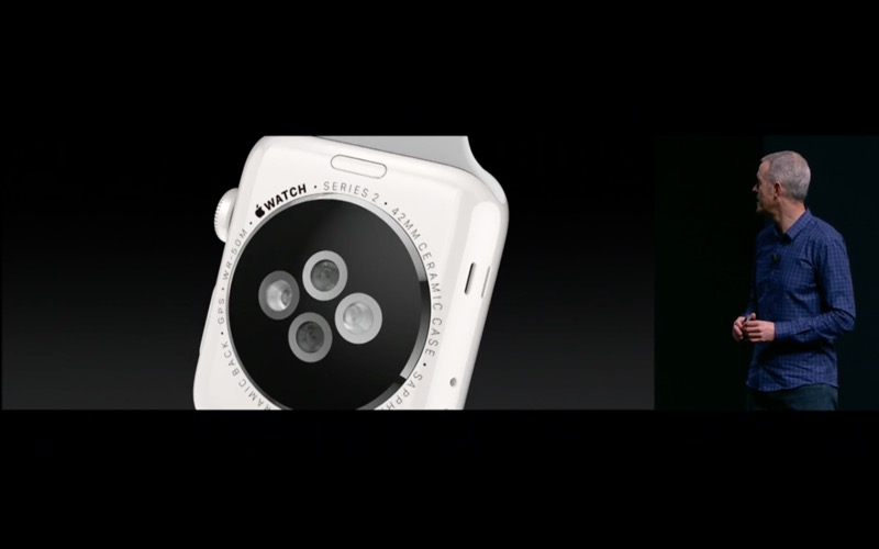 Apple Watch Series 2 in keramiek.