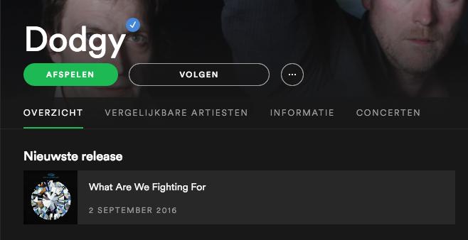 Nieuw album van Dodgy