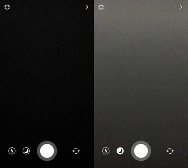 Low Light Instagram verschil