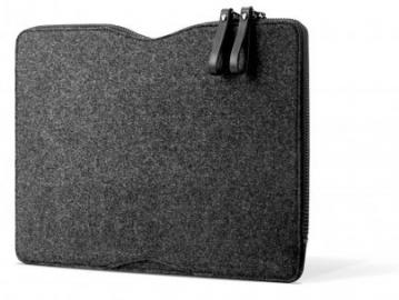 Mujjo Carry-On Folio Sleeve, achterkant van vilt