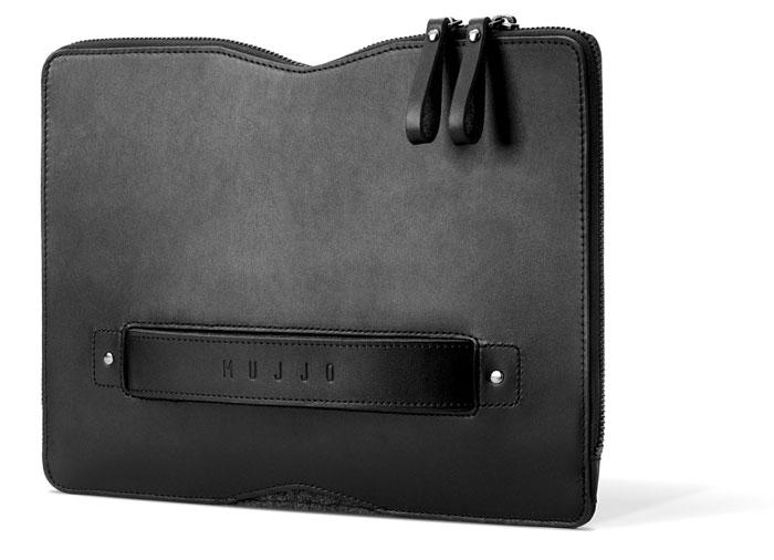 Mujjo Carry-On Folio Sleeve voor 12-inch MacBook