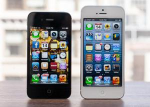 iPhone 4s en iPhone 5