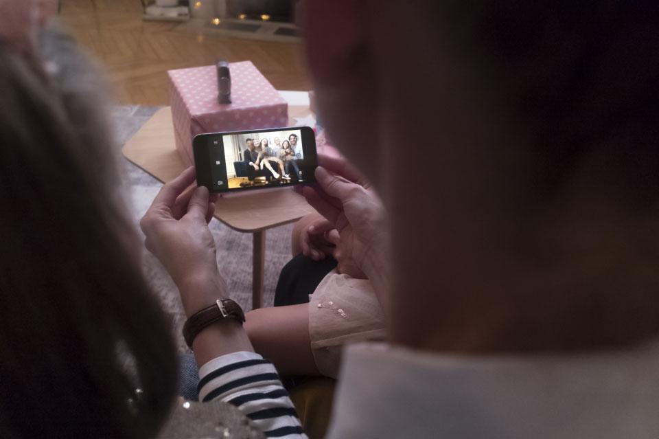 Wi-Fi-verbinding met DxO One Camera