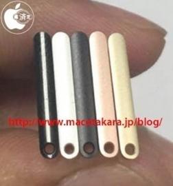 Simkaartklep iPhone 7 in 5 kleuren