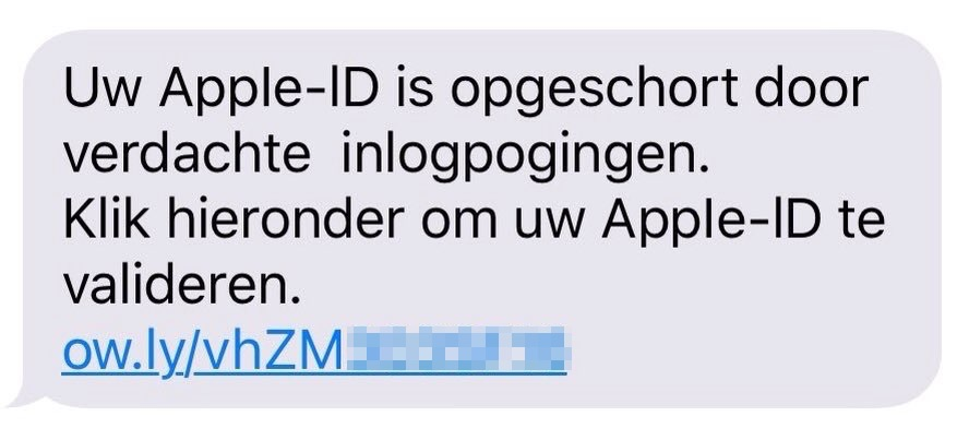 Apple-ID opgeschort