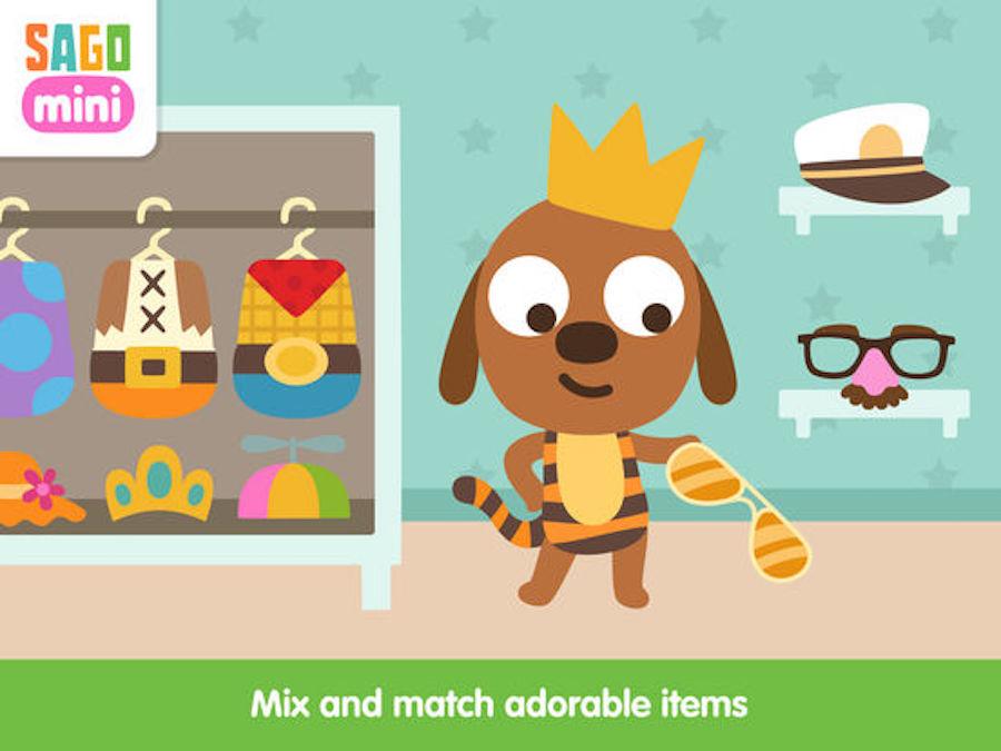 Sago Mini Baby's Verkleden