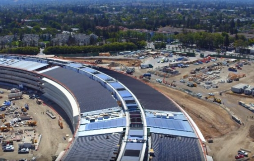Apple Campus dronevideo