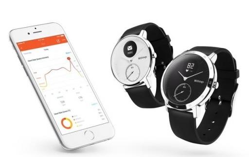 Steel HR horloge met iPhone-app