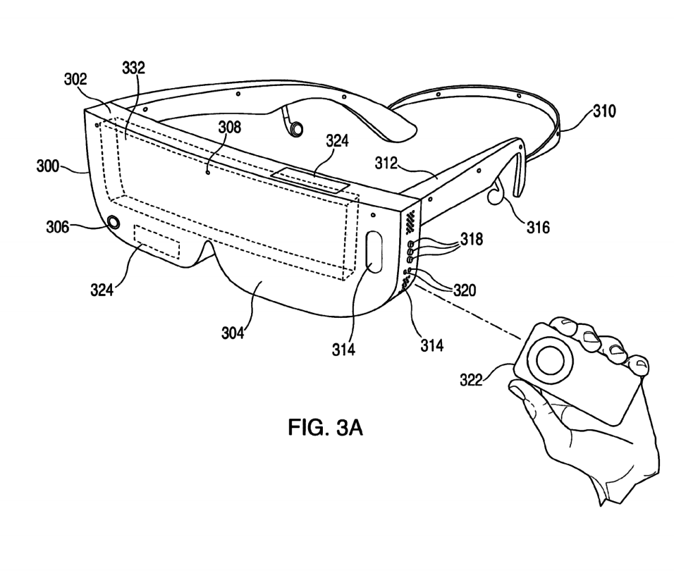 Patent VR-bril voor iPhone