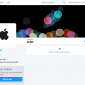 Apple start officieel Twitter-account