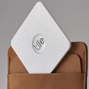 Tile Slim tracker in portemonnee