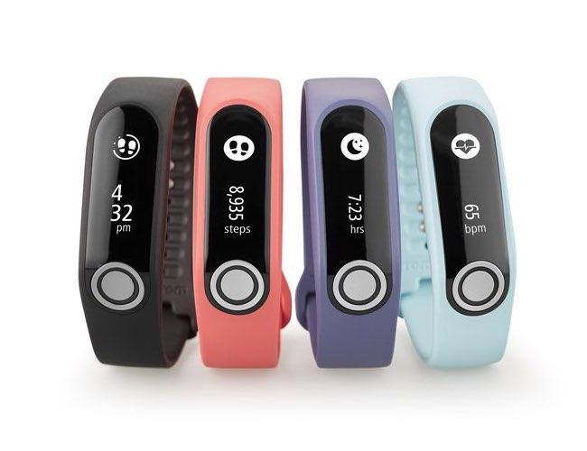 TomTom Touch fitnesstrackers in verschillende kleuren