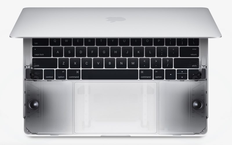 MacBook Pro 2016 speakers