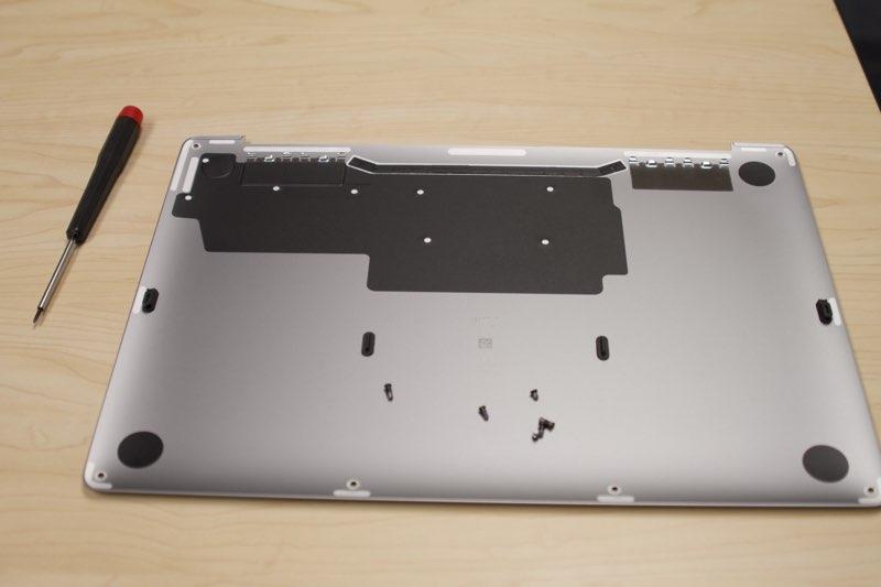 Teardown SSD MacBook Pro 2016