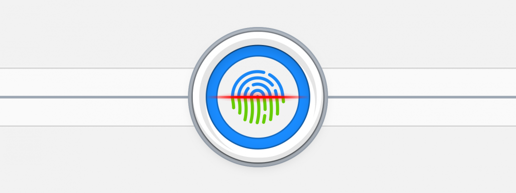 1Password voor Mac met Touch Bar