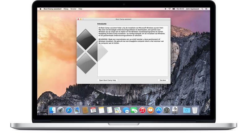 Mac: Bootcamp met Windows