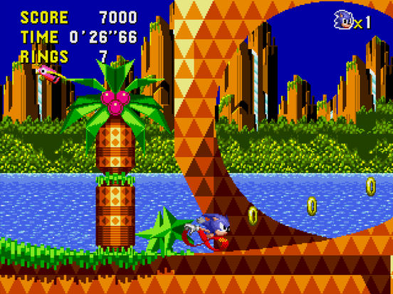 Sonic CD voor iPhone, iPad en Apple TV