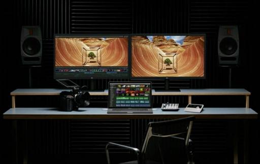 MacBook Pro met meerdere schermen
