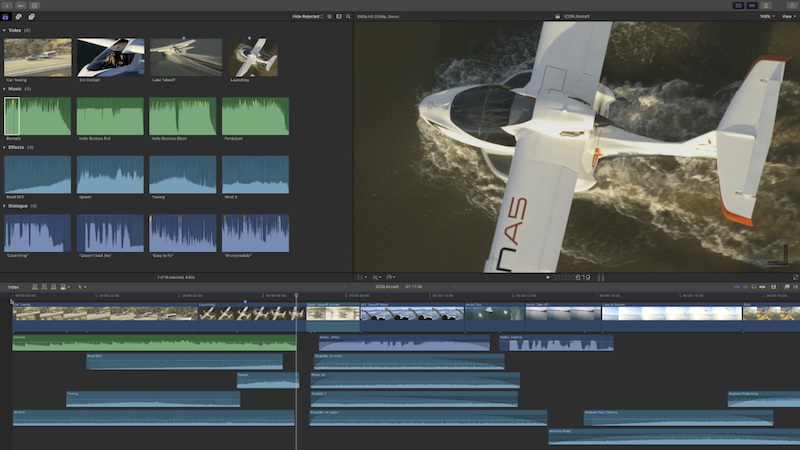 Final Cut Pro: Magnetic Timeline 2