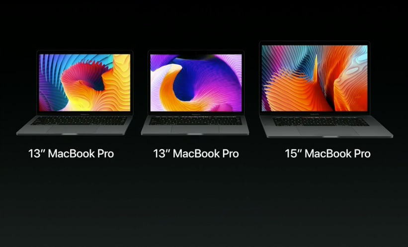 MacBook Pro line-up.