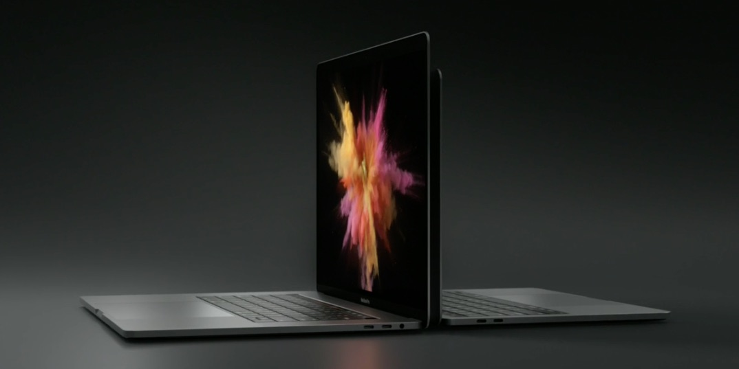 MacBook Pro in 15 en 13 inch.