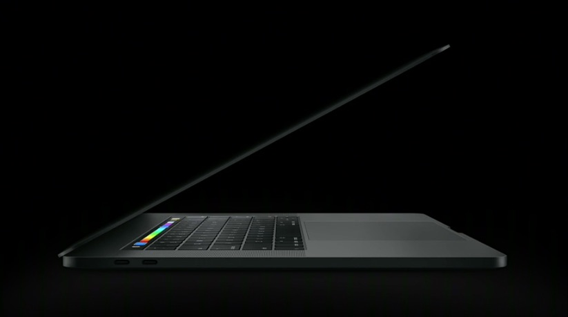 MacBook Pro zijkant