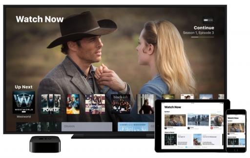 TV-app op Apple TV en iOS.