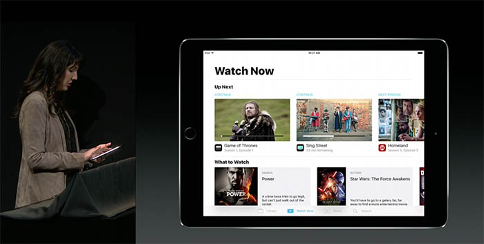 TV-app op de iPad