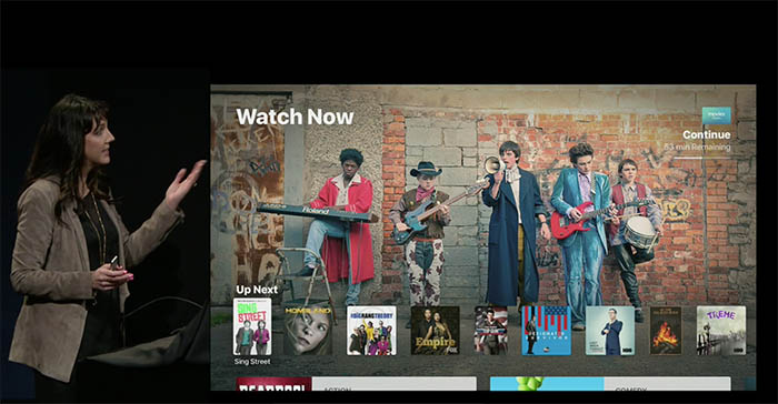 TV-app voor Apple TV