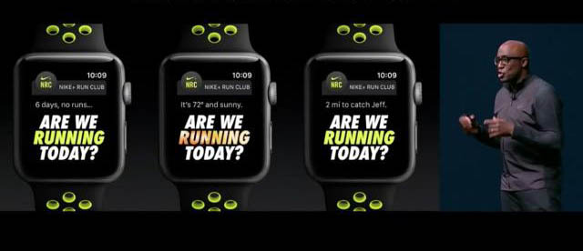Nike Watch: motivatie