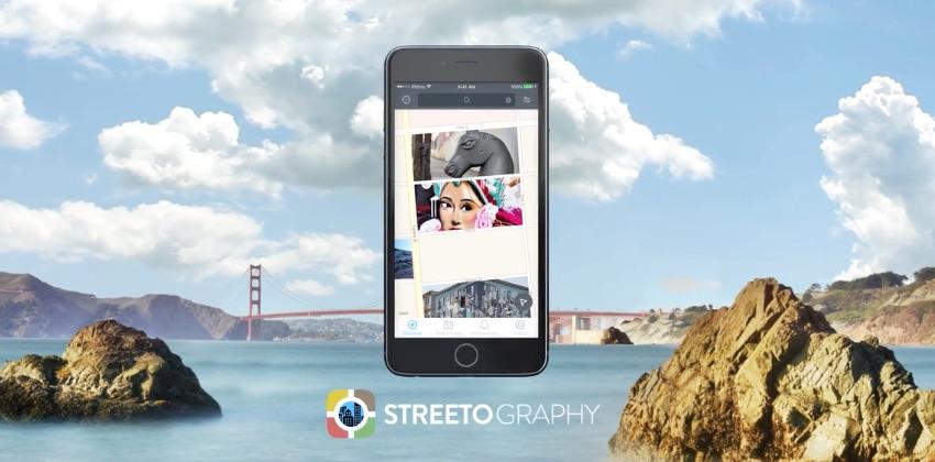 Streetography brengt grote steden in kaart met foto's.